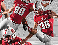 2014 NC State Football Poster