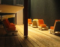 Architecture Models - Fashion Retailers with a Café