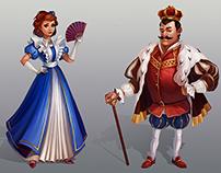 Social games character