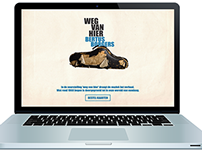 Webdevelopment: Weg van Hier website