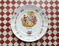 Heritage wall decorative plates