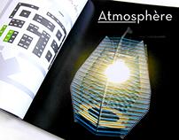 Atmosphère, Catalogue d'exposition de luminaires
