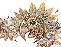 Pen Drawing_Organic Art