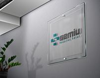 Rede de hospitais Semiu Identidade visual