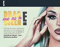 "Email Newsletter - ""Drag me as a queen"" Canal E!"