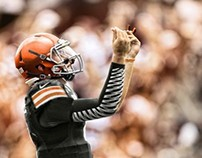 Johnny Manziel Responsive Website