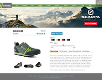 Rock Creek Website Redesign Mockup
