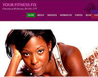 Your Fitness Fix WordPress Blog Restyling
