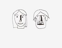 sketch - Faces