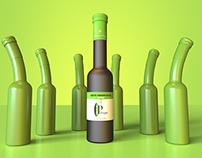 3D Olive Oil Bottles to Monte de Portugal