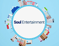Soul Entertainment (Motion Graphics Animation)