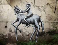 Sheffield Street Art in Abandoned Buildings