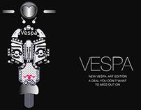 THE VESPA ART  (Illustrations)