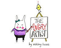 The Angry Artist - Picture Book