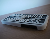 The Pursuit - 3D Printed iPhone 5 Case