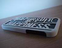 The Pursuit - 3D Printed iPhone 5 Case