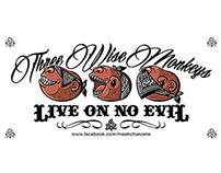 Babybean Hiphead : 3 wise monkeys (Live on no eviL)