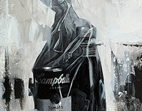"""Metafísica de la Memoria"" Acrilic Art"