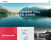 Lake Como website