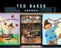 Ted Baker - A/W Surreal Window Displays