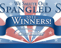 Clear Choice Microsite - Star Spangled Smiles