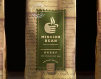 Mission Bean Coffee Company Package Design