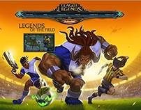 League of Legends: Website for World Cup Skins Bundle