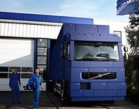 illustration for Volvo Trucks