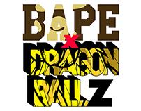 Bape x Dragonball Z