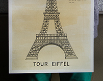 TOUR EIFFEL (HAND DRAWING)