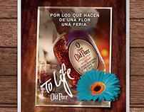 Old Parr Feria de las Flores 2014