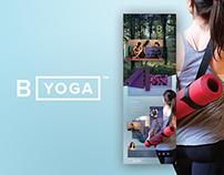 B Yoga Website
