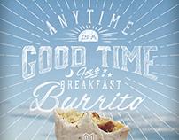 Breakfast Burrito Time