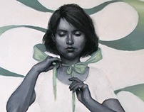 Girl with the Green Ribbon