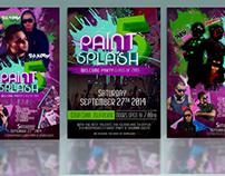 Paint Splash 5th Anniversary