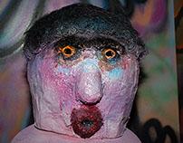 Mache Mask Heads