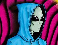 Alien Hoodie