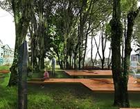 Parque de la memoria. Unidad Urbano-6 semestre