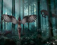 mystical dreamy creature
