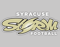 Syracuse Storm Football Branding