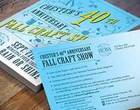Fall Craft Show Poster & Postcard
