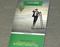 Corporate Bi-Fold Brochure VO-18