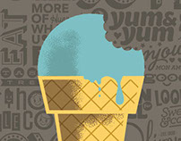 Olivers Icecream posters