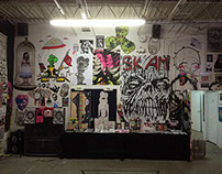 Adhesive Fiends exhibitions || July 2014