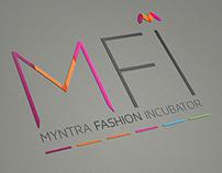 Myntra Fashion Incubator Logo design concept