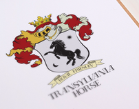 Royal Transylvania Horse Coat of Arms and Branding