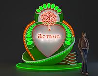 Astana's birthday