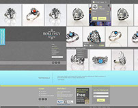 web Design - jewelry shop