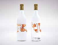 Ron Montero. Bottle Design