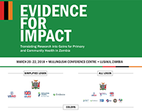 Evidence for Impact Symposium brand materials